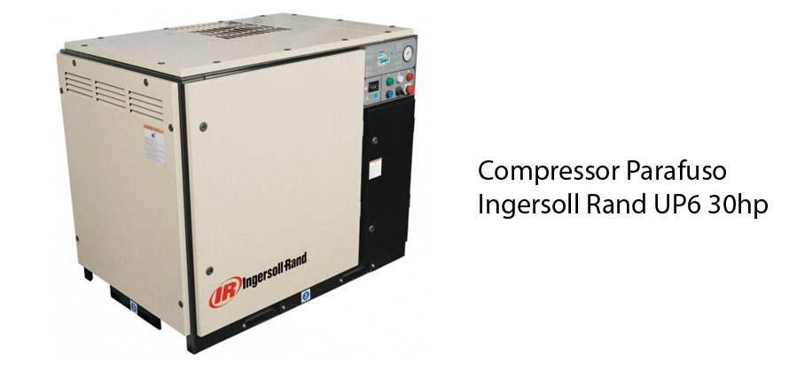Compressor Parafuso Ingersoll Rand UP6 30hp